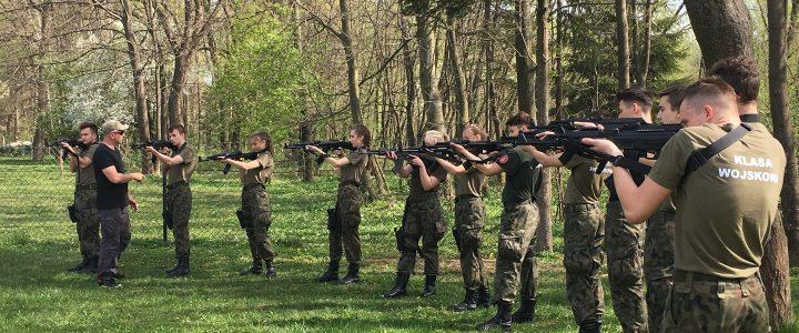 Obóz szkoleniowy klasy mundurowej