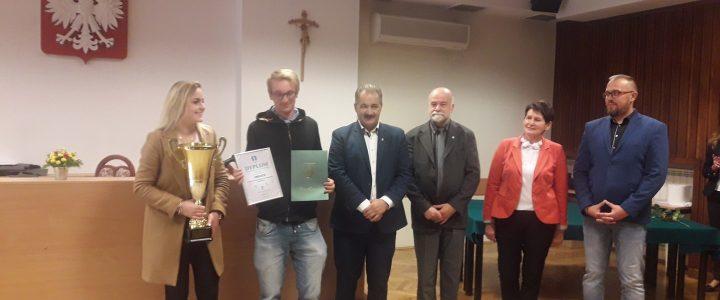 Wręczenie nagród za Sportową Rywalizację Szkół powiatu tatrzańskiego