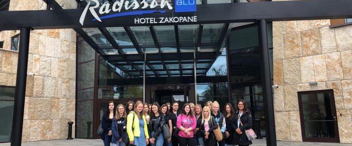 Wizyta zawodoznawcza w hotelu Radisson Blu w Zakopanem