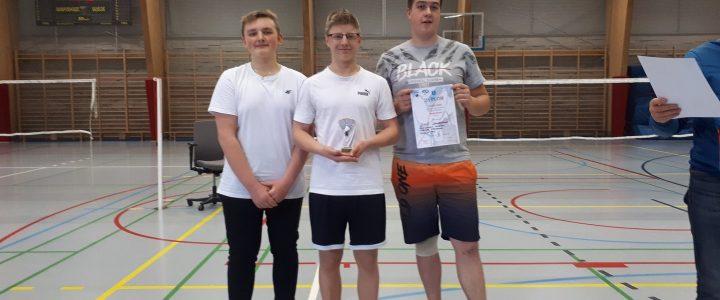 Międzyszkolne zawody w badmintonie