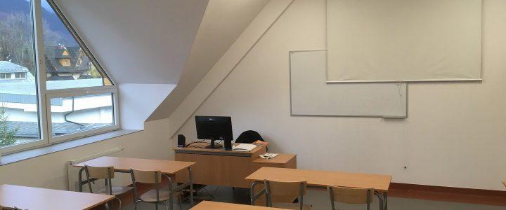 Nowe sale lekcyjne