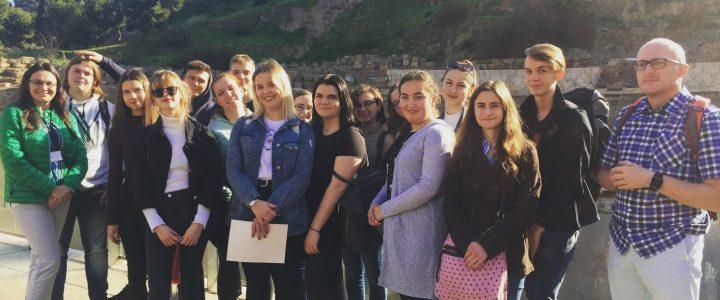 Z górskiego Zakopanego, prosto na słoneczne wybrzeże – uczniowie z ZSHT w Zakopanem w Maladze